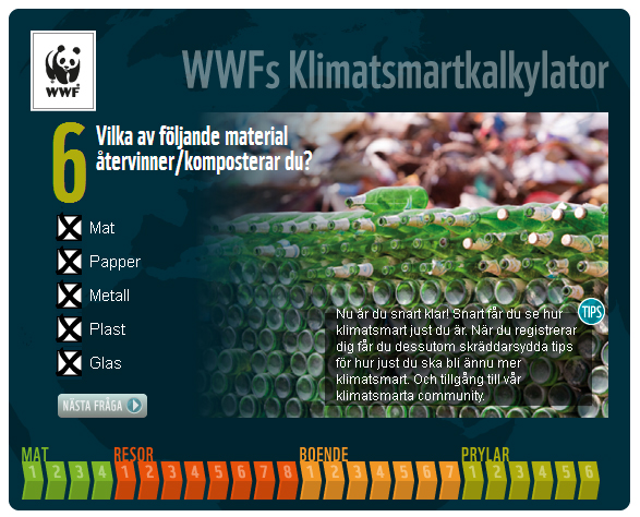 WWFs Klimatsmartkalkylator3