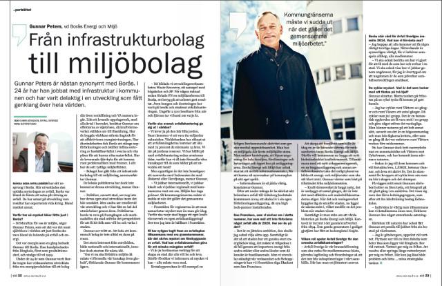 Gunnar Peters i Avfall och Miljö