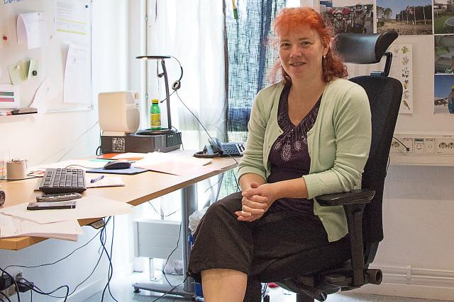 Eva Ytell, transportledare på Sobacken